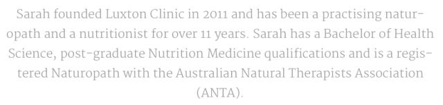Sarah Stevens, registered ANTA member