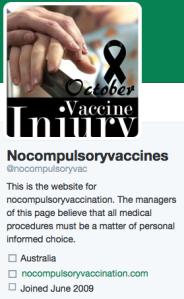 AVN Twitter profile